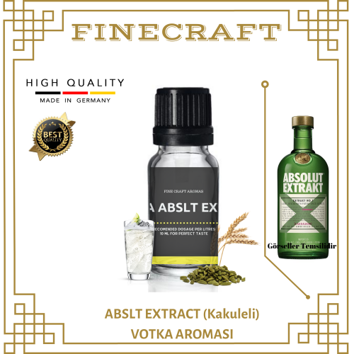 Abslt Extract Vodka Aroması 10ML