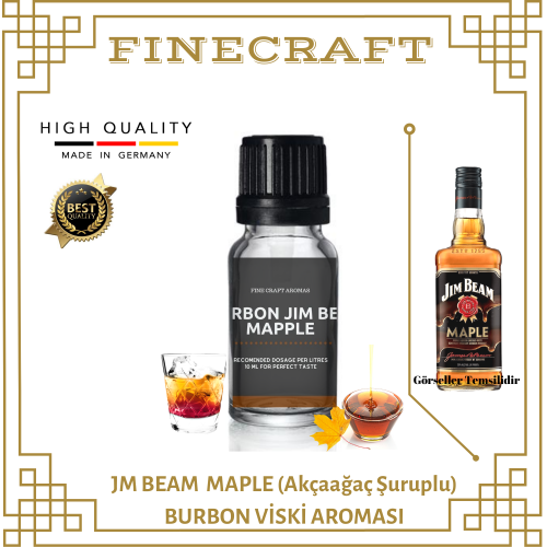 Jm Beam Maple Whiskey Aroması 10ML