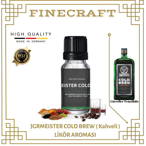 Jgrmeister Cold Brew (Kahveli) Likör Aroması 10 ML