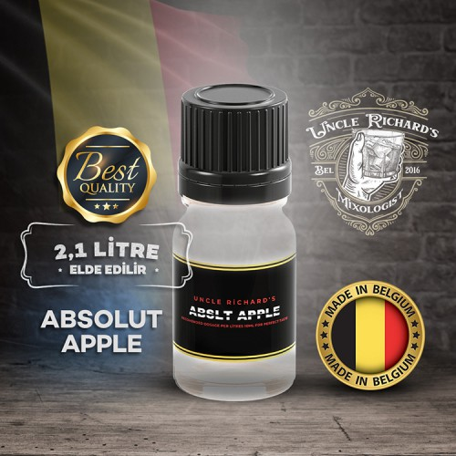 Abslt - Apple (Elmalı) Vodka Aroması Kiti 10ML
