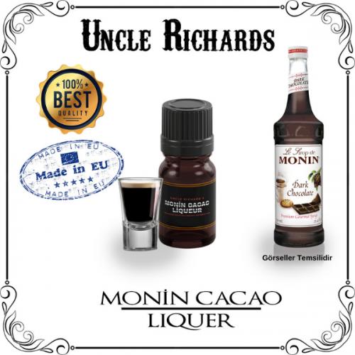 Monin Cacao (Çikolata Likörü) Likör Aroması Kiti 10ML