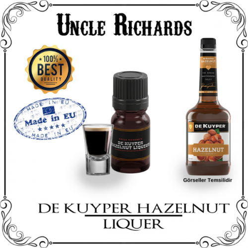 De Kuyper Hazelnut (fındık Likörü) Likör Aroması Kiti 10ML