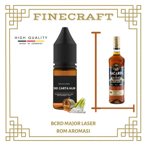 Bcrd - Major Laser Rum Aroması 10ML