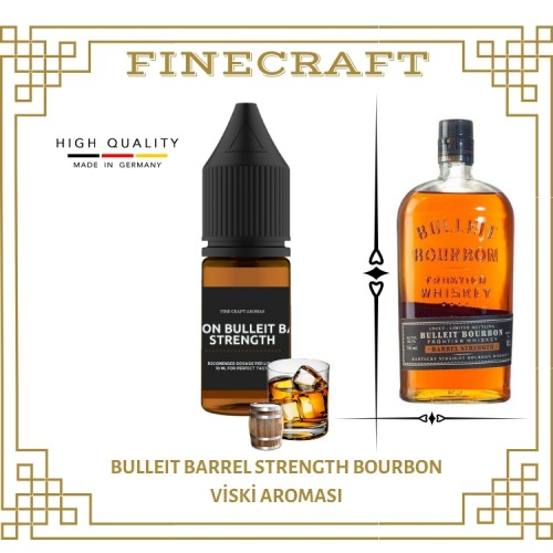 Blleit Barrel Strength Whiskey Aroması 10ML