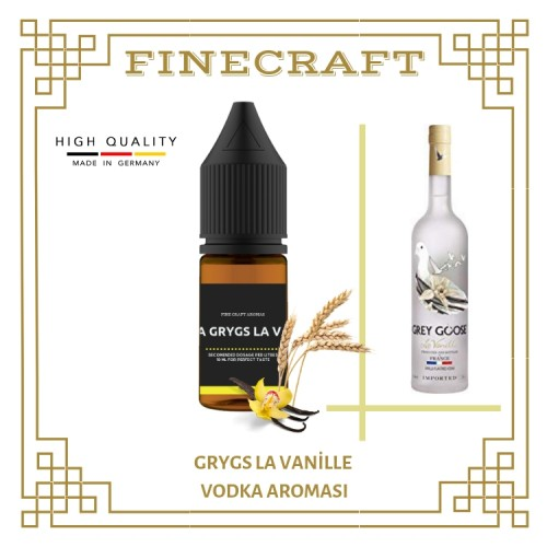 Grygs - La Vanille Vodka Aroması 10ML