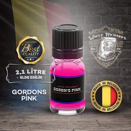 Grdns - Premium Pink Gin Aroması Kiti(2.1 litre için) 10ML