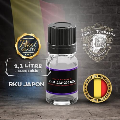 Rku - Japanese Gin Aroması Kiti(2.1 litre için) 10ML