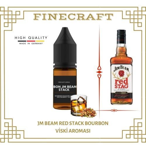 Jm Beam Red Stack Whiskey Aroması 10ML