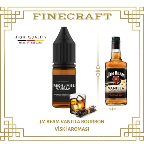 Jm Beam Vanilla Whiskey Aroması 10ML