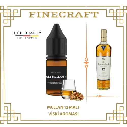 Mcllan 12 Malt Whiskey Aroması 10ML
