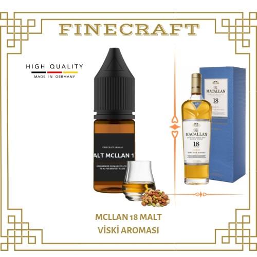 Mcllan 18 Malt Whiskey Aroması 10ML