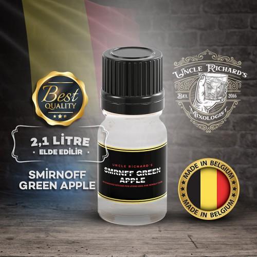 Smrnf - Green Apple (Yeşil Elmalı) Vodka Aroması(2.1 litre için)10ML
