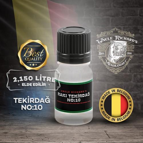 Rakı Tekirdağ No:10 Rakı Aroması Kiti (2.150 litre için) 10ML