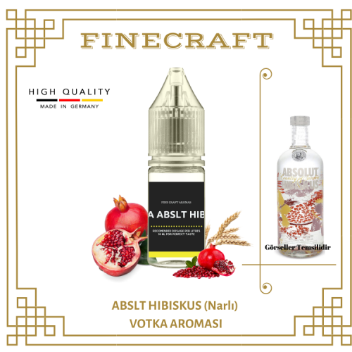 Abslt Hibiskus Vodka Aroması 10ML