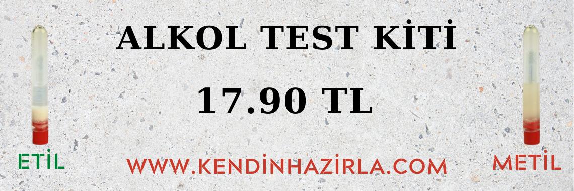 ALKOL TEST KİTİ